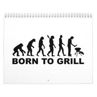 Born to Grill Evolution Calendar
