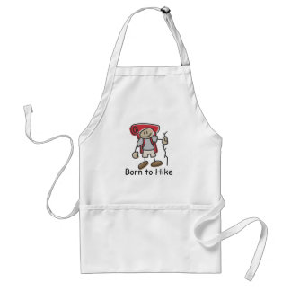 Born to Hike gifts. Apron