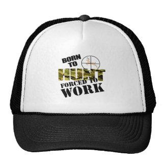 born to hunt trucker hats