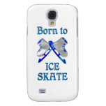 Born to Ice Skate Samsung Galaxy S4 Covers