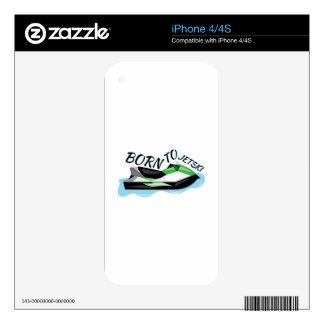 Born To Jet Ski iPhone 4S Decal