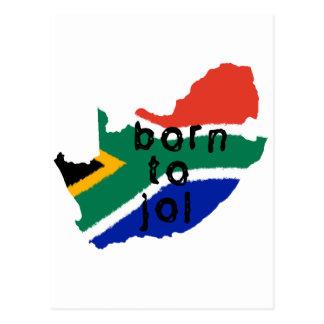 Born to Jol Postcard