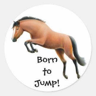 Born to Jump Sticker