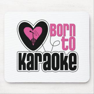 Born to Karaoke Heart Mouse Pad