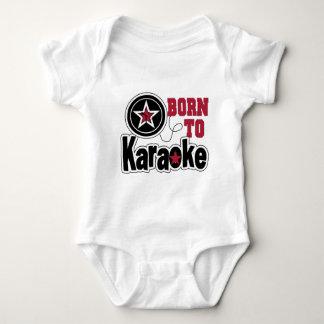 Born to Karaoke Star Baby Bodysuit