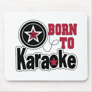 Born to Karaoke Star Mouse Pad