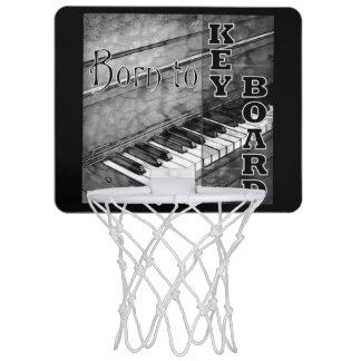 Born To Keyboard Mini Basketball Goal Mini Basketball Hoops