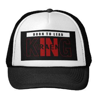 born to lead. karaeng trucker hat
