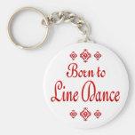 BORN TO LINE DANCE KEY CHAIN