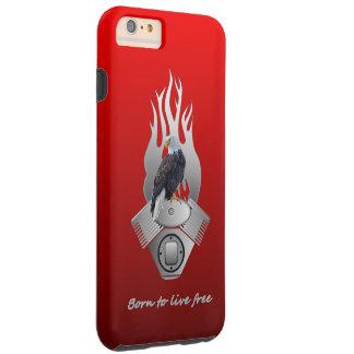 Born to live free tough iPhone 6 plus case