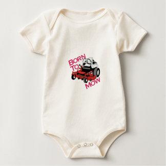 Born To Mow Baby Bodysuit