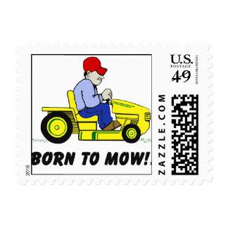 Born To Mow Postage