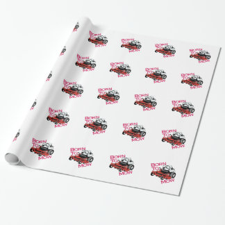 Born To Mow Wrapping Paper