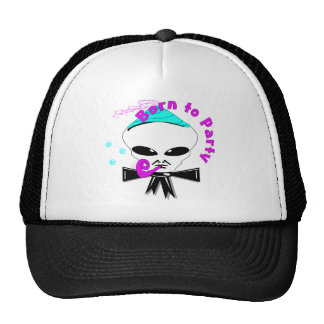 Born To Party Trucker Hat