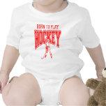 Born to Play Hockey (red) T-shirt