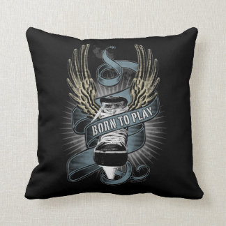Born To Play II Throw Pillow