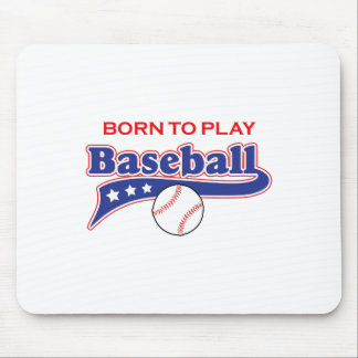 BORN TO PLAY MOUSEPADS