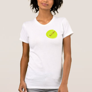 Born to play, with tennis ball T-Shirt