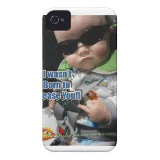 BORN TO PLEASE iPhone 4 Case-Mate CASE