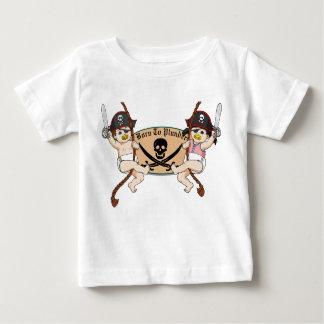 Born To Plunder - Baby Pirates Swinging Infant T-shirt