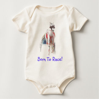 Born To Race Baby Romper