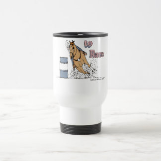 Born to Race Barrel Horse Travel Mug