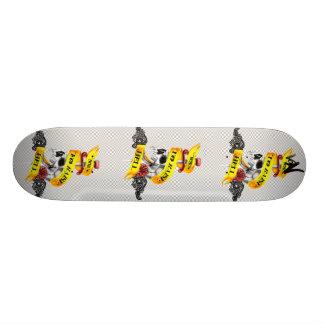 Born to raise Hell Skateboard Deck