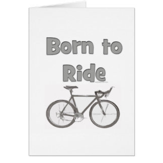 Born to ride cards