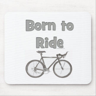 Born to ride mouse pad