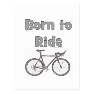Born to ride post cards