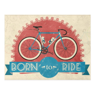 Born to Ride Postcards