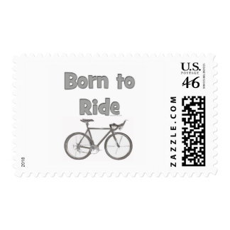 Born to ride stamps