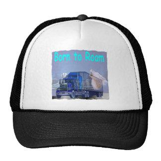 Born to roam trucker hat