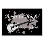 Born to Rock, Forced To Work Poster