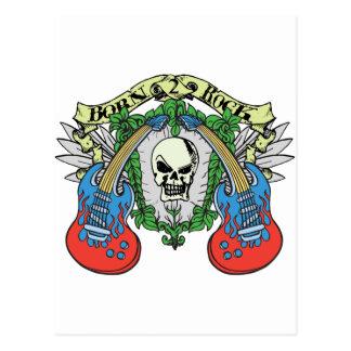 Born to Rock Postcard