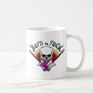 Born to rock taza de café