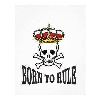 born to rule dead letterhead