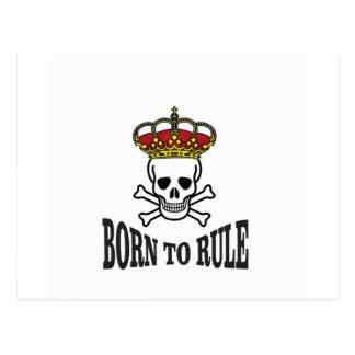 born to rule dead postcard