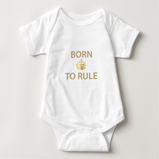 Born To Rule with golden crown Tshirt