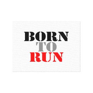 Born to Run Canvas Print