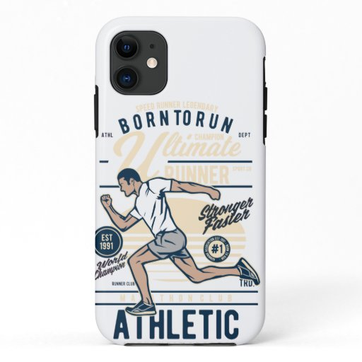 Born to Run iPhone 11 Case