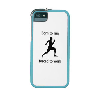Born To Run Forced To Work Case For iPhone 5
