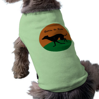 Born to Run- Italian Greyhound design Tee