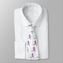 Born to run neck tie