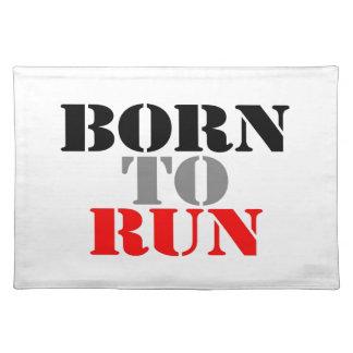 Born to Run Place Mat