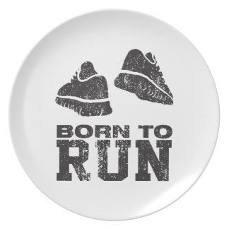 Born To Run Party Plates