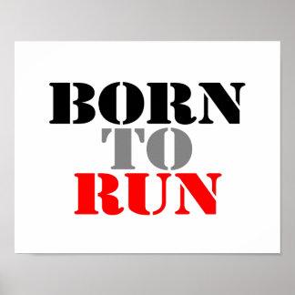 Born to Run Poster
