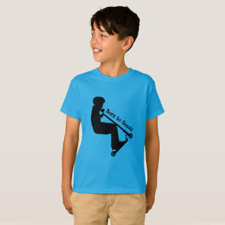 Born to Scoot - Stunt Scooter Rider T-Shirt