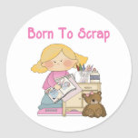 Born To Scrap Sticker