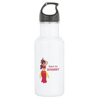 BORN TO SHIMMY 18OZ WATER BOTTLE